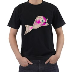 Fish 4 Mens' Two Sided T Shirt (black)