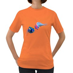 Fish 5 Womens' T-shirt (Colored)