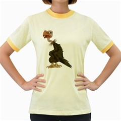 Vulture 1 Womens  Ringer T-shirt (Colored)