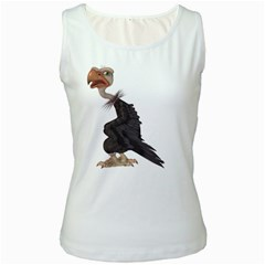 Vulture 1 Womens  Tank Top (white)