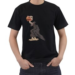 Vulture 1 Mens' Two Sided T Shirt (black)