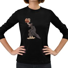 Vulture 1 Womens' Long Sleeve T Shirt (dark Colored)