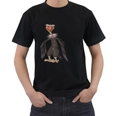 Vulture 2 Mens' T-shirt (Black)