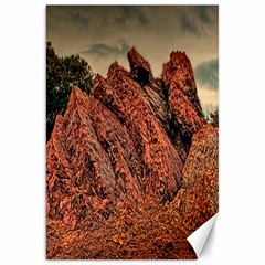 stacked rock s Canvas 20  x 30  (Unframed)