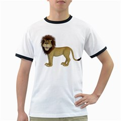Lion 1 Mens' Ringer T-shirt