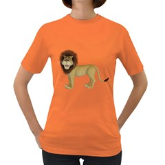 Lion 1 Womens' T-shirt (Colored)