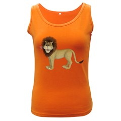 Lion 1 Womens  Tank Top (Dark Colored)