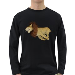 Lion 2 Mens' Long Sleeve T-shirt (Dark Colored)