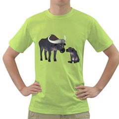 Buffalo 2 Mens  T-shirt (Green)