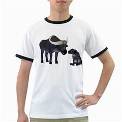 Buffalo 2 Mens' Ringer T Shirt
