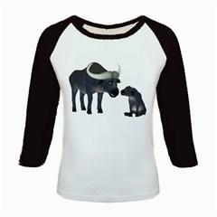 Buffalo 2 Women s Long Cap Sleeve T-Shirt