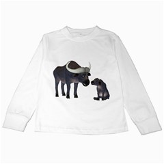Buffalo 2 Kids Long Sleeve T Shirt