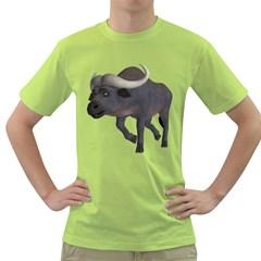 Buffalo 3 Mens  T Shirt (green)