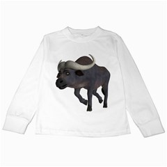 Buffalo 3 Kids Long Sleeve T Shirt