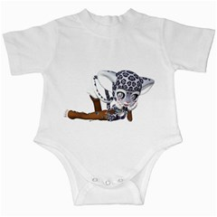 Native Snow Leopard 2 Infant Creeper