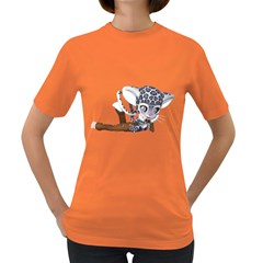 Native Snow Leopard 2 Womens' T-shirt (Colored)