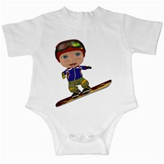 Snowboarder 1 Infant Creeper