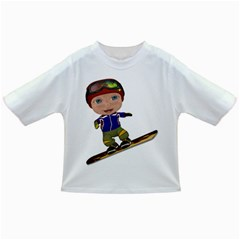 Snowboarder 1 Baby T Shirt