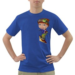 Snowboarder 3 Mens' T-shirt (Colored)