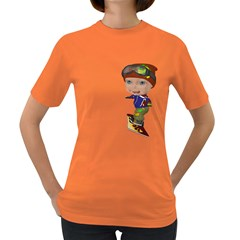 Snowboarder 3 Womens' T-shirt (Colored)