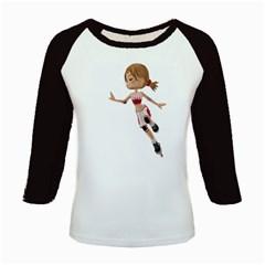 Skater Girl 3 Women s Long Cap Sleeve T-Shirt
