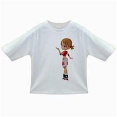 Skater Girl 4 Baby T-shirt