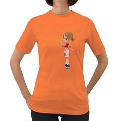 Skater Girl 4 Womens' T-shirt (Colored)