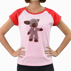 Lamb 1 Women s Cap Sleeve T-Shirt (Colored)