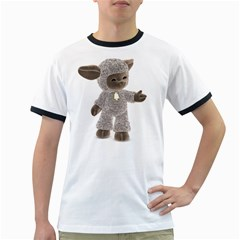 Lamb 1 Mens' Ringer T-shirt
