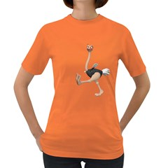 Ostrich 1 Womens' T-shirt (Colored)