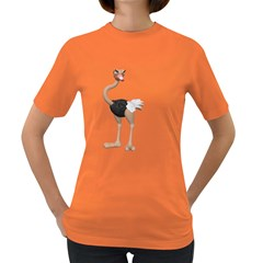 Ostrich 2 Womens' T Shirt (colored)