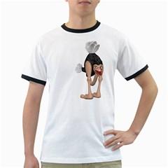 Ostrich 3 Mens' Ringer T-shirt