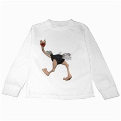 Ostrich 4 Kids Long Sleeve T Shirt