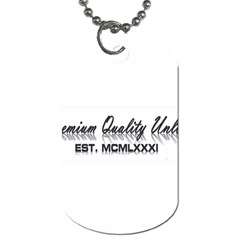 Banner Dog Tag (Two Sided)