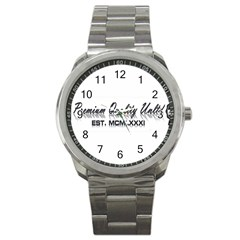 Banner Sport Metal Watch
