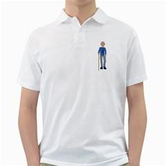 Grandpa 2 Mens  Polo Shirt (white)