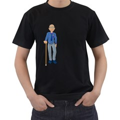 Grandpa 2 Mens' T-shirt (Black)