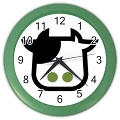 Cowcow 1220x996 Wall Clock (color)