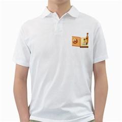 Fairy Book Mens  Polo Shirt (white)
