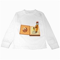 Fairy Book Kids Long Sleeve T-Shirt