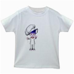 Cook 1 Kids' T Shirt (white)