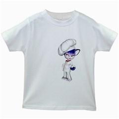 Cook 2 Kids' T-shirt (White)