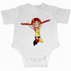 Naughty Girl 1 Infant Creeper