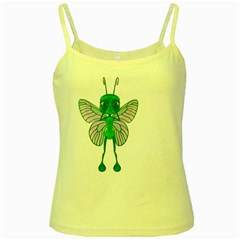 Fly 1 Yellow Spaghetti Tank
