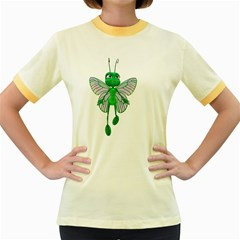 Fly 3 Womens  Ringer T-shirt (Colored)