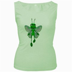 Fly 3 Womens  Tank Top (Green)