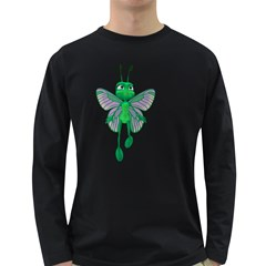 Fly 3 Mens' Long Sleeve T Shirt (dark Colored)