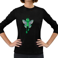 Fly 3 Womens' Long Sleeve T-shirt (Dark Colored)