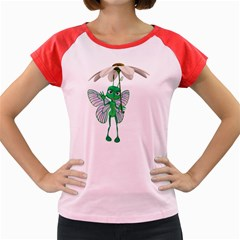 Fly 4 Women s Cap Sleeve T Shirt (colored)
