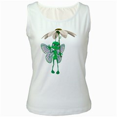 Fly 4 Womens  Tank Top (White)